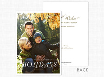 The Happiest of Holidays Christmas Photo Cards